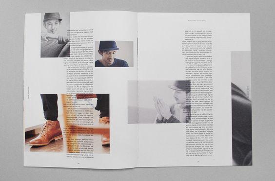 طراحی یونفرم مجله - فرم کلی نشریه