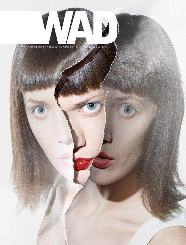 طرح جلد مجله هنری