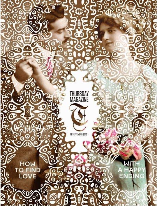 استفاده از پترن در روی جلد مجلات