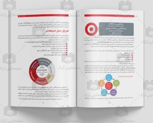 طراحی صفحات داخلی کتاب