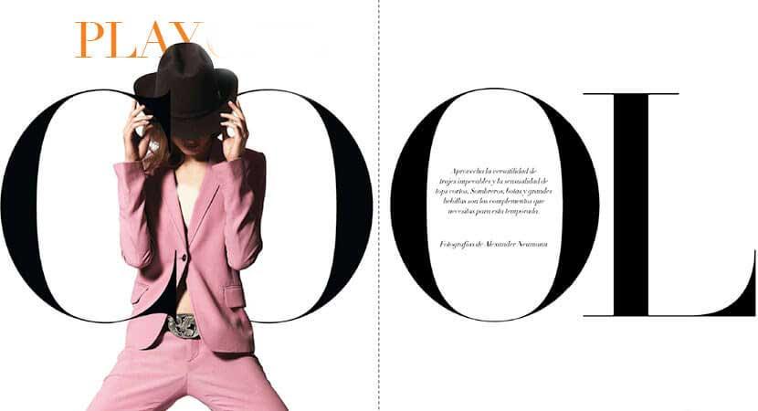 طراحی صفحه مجله به صورت سه بعدی