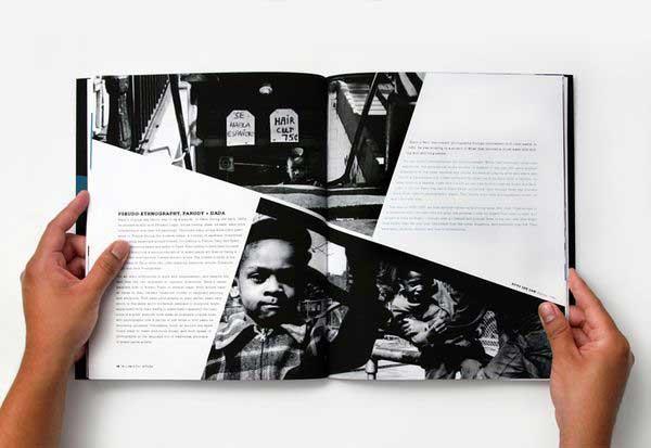زوایا در طراحی صفحات مجله