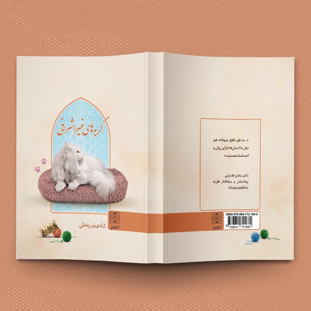 طرح روی جلد کتاب رقعی گربه های غیر اشرافی