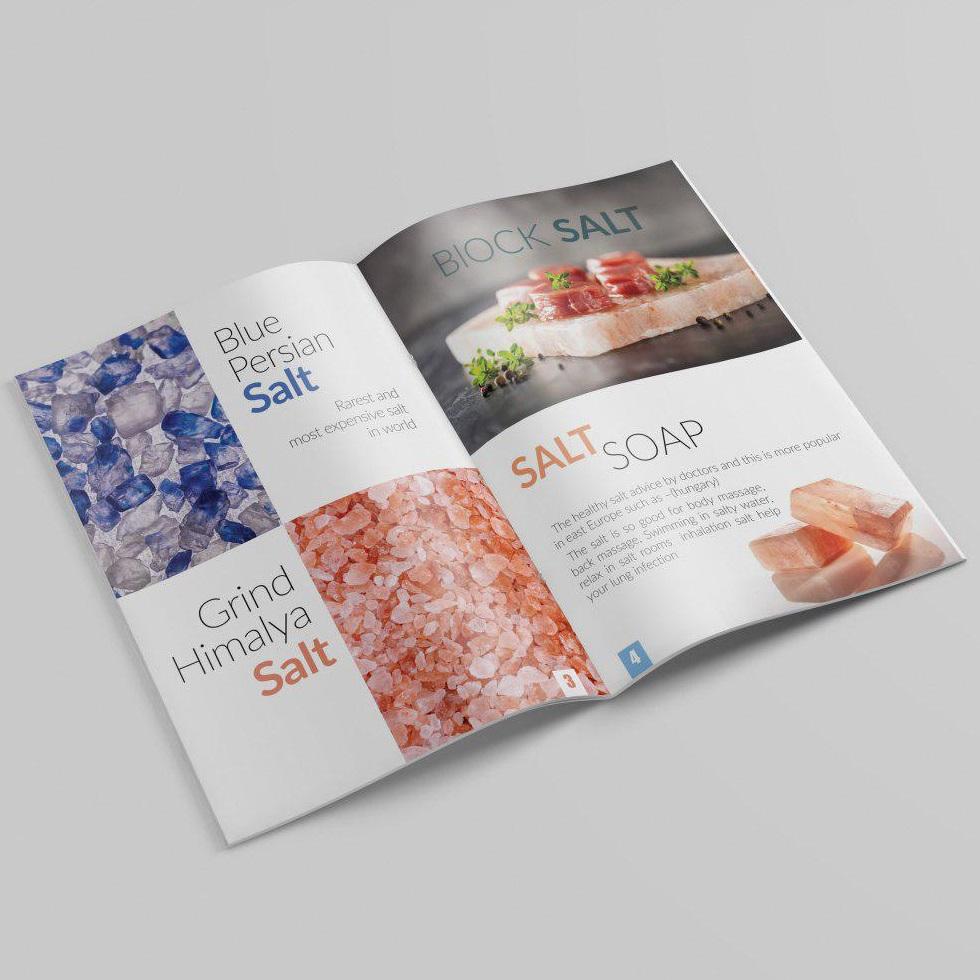 نمونه کار طراحی کاتالوگ حرفه ای تبلیغاتی و صادراتی دیجیتال و آنلاین در فتوشاپ