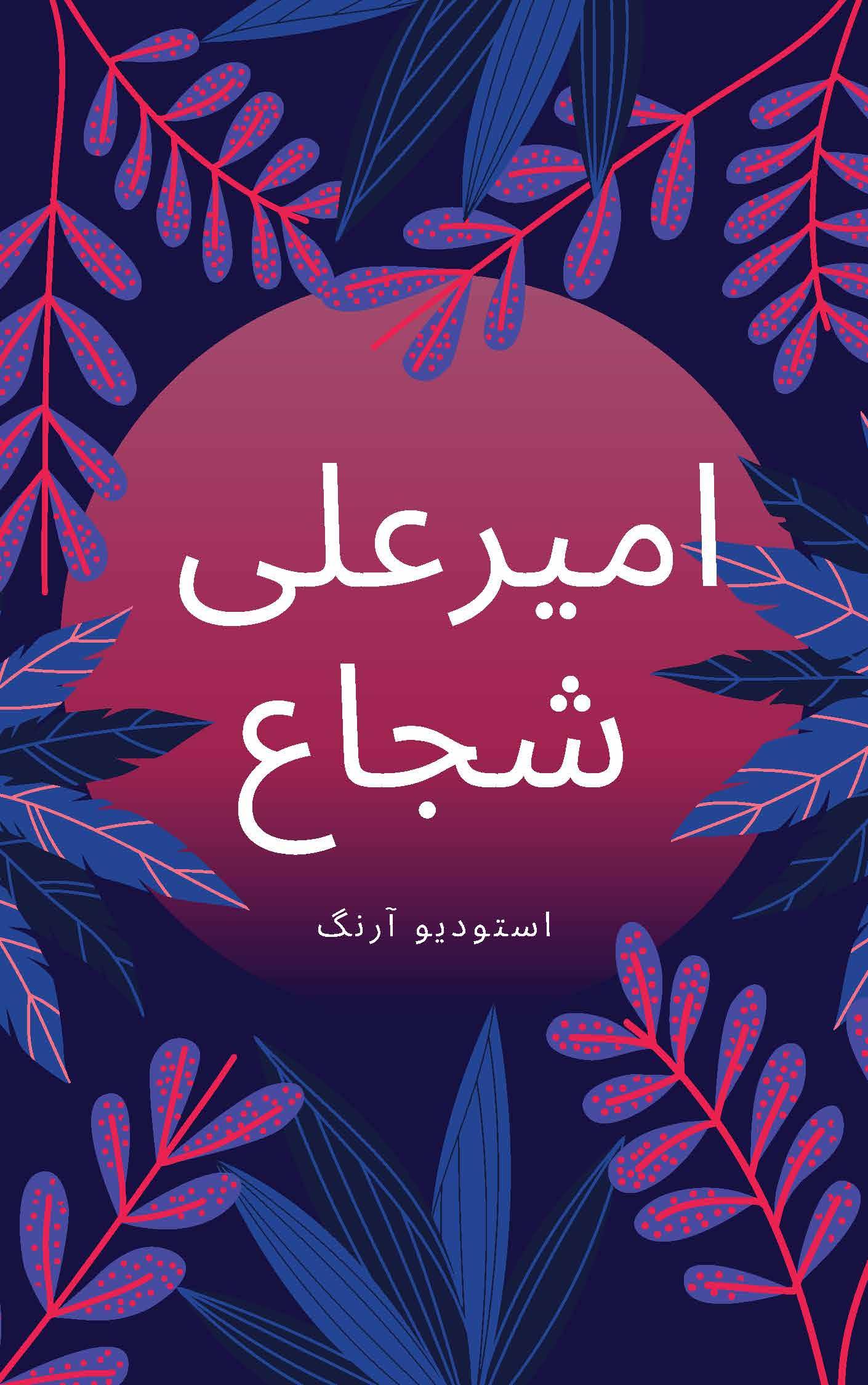 طراحی جلد کتاب کودک امیرعلی شجاع