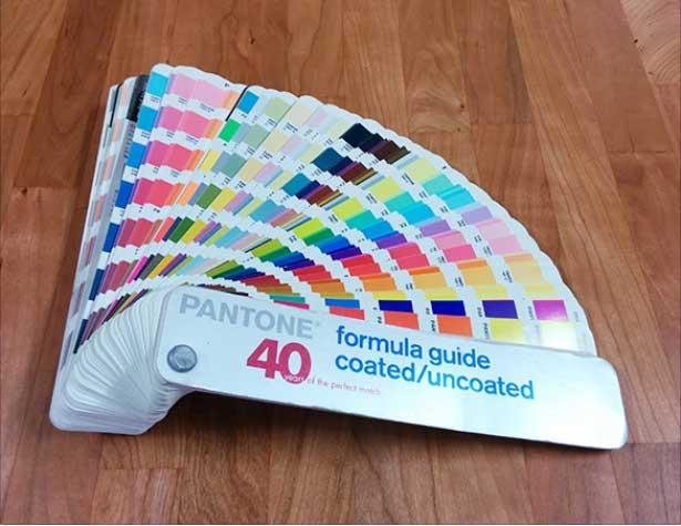 رنگ در طراحی کتاب و مجله